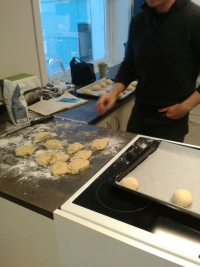"NORUEGA. Día 4. Last day in Alesund, I enjoyed myself a lot with ""cooking""."