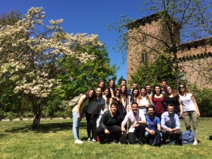 BERGAMO ERASMUS+. Day 2. Excursion to Pavia, an impressive and cultural city.