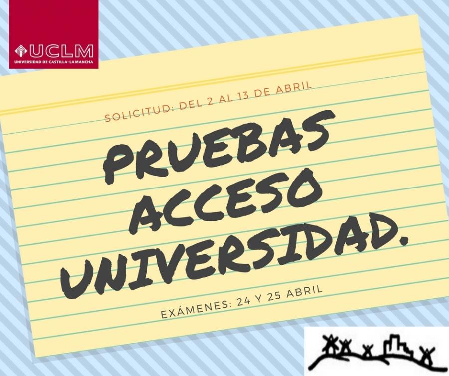 Pruebas De Acceso A La Universidad Mayores De 25 Años Uclm